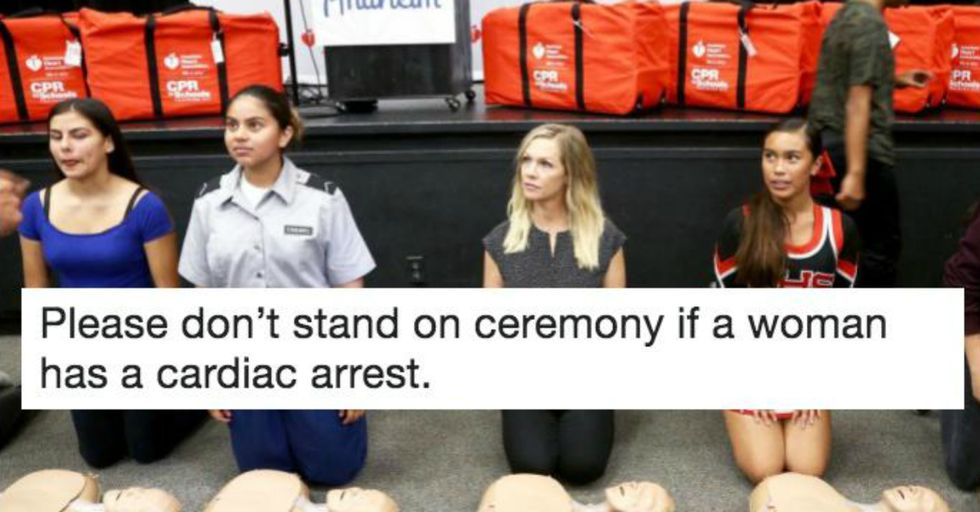 Women Are Less Likely to Get CPR From Bystanders for These Two Surprising Reasons
