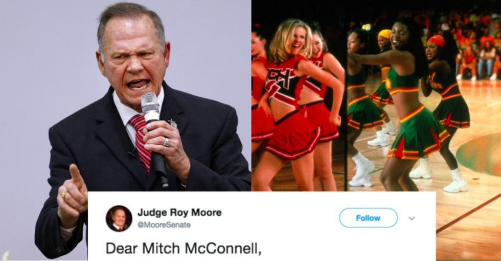 Roy Moore Accidentally Brought up Teenage Cheerleaders While Trying to Deny He's a Pedophile