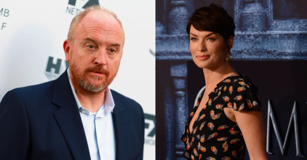 Louis C.K.'s Half-Hearted Apology Was Just Skewered by 'Game of Thrones' Star Lena Headey