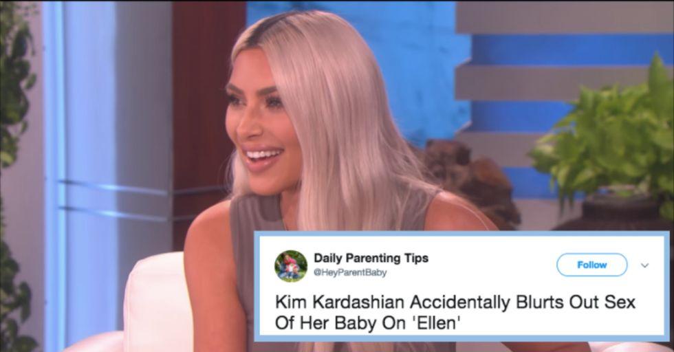 Kim Kardashian Just Accidentally Revealed the Sex of Baby No. 3!