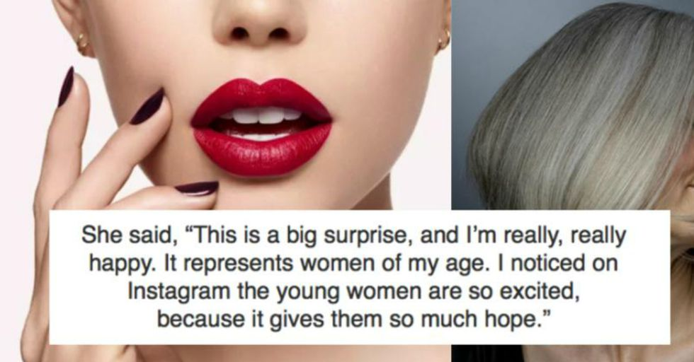 The Newest CoverGirl Is Also the Oldest CoverGirl Ever, and She's a Stunning 69-Year-Old Grandma