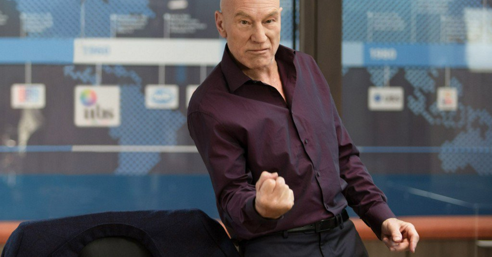 Patrick Stewart Just Shut Down the 'Sexiest Man Alive' Debate With an Incredible Photo