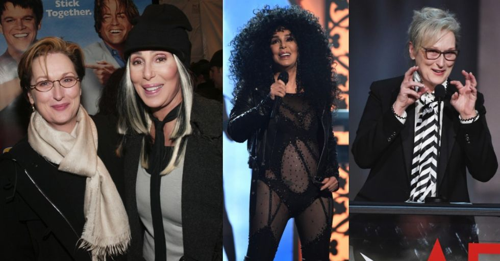 This Is the Crazy Story Behind the Time Meryl Streep and Cher Teamed up to Stop a Mugging