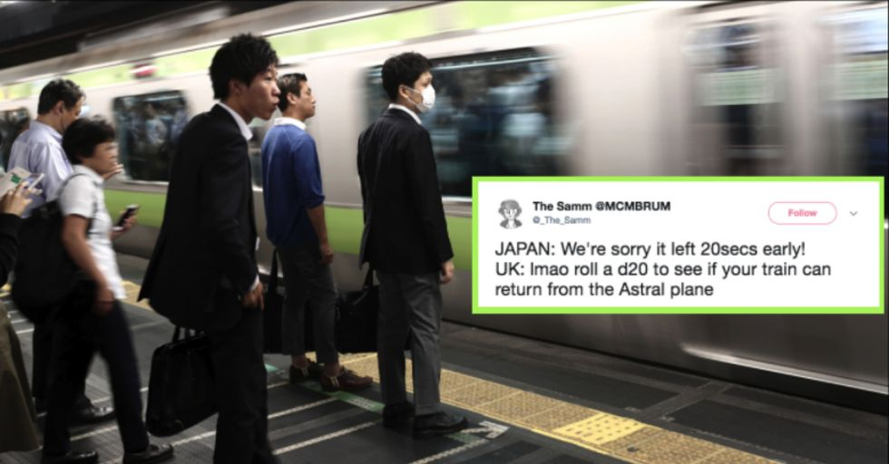 Japanese Train Company Says It's 'Deeply Sorry' for Committing This Hilariously Small Offense