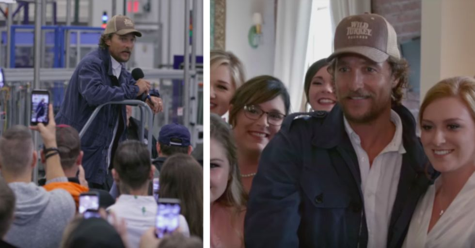 Matthew McConaughey Brought the Residents of This Kentucky Town a Special Holiday Surprise