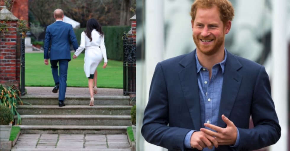 Prince Harry Just Got Engaged and Now the Royal Family Isn't Just White People Anymore