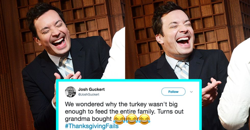 Jimmy Fallon Got People to Share Their Most Bizarre and Hilarious Thanksgiving Fails
