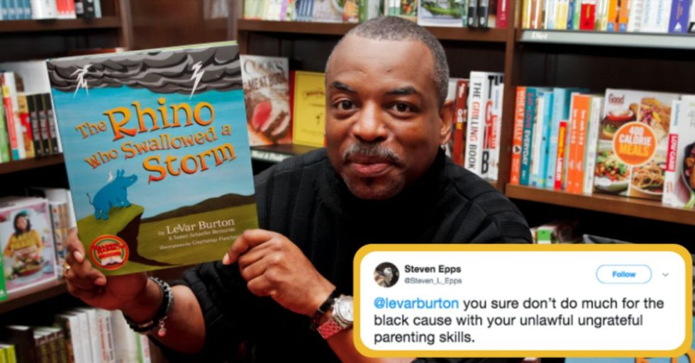 Trump Supporters Are Furious With 'Reading Rainbow' Host LeVar Burton for All the Wrong Reasons