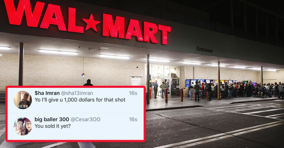 These Black Friday Shoppers Have an Insane Plan to Skip the Lines at Walmart