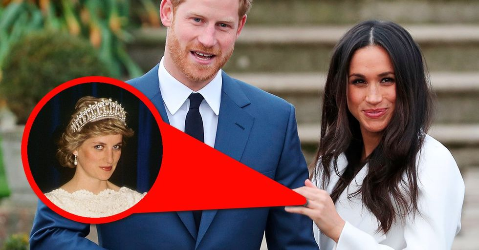 This One Bittersweet Detail About Meghan Markle's Engagement Ring Has the Internet in Tears
