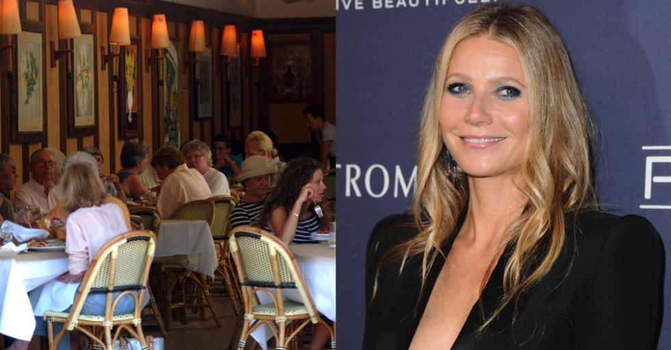 The Internet Is Super Impressed That Gwyneth Paltrow Had Lunch With These Two Surprising People