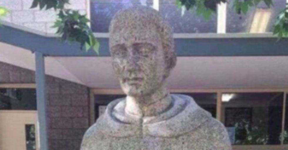 This Catholic Statue Was so Unintentionally Obscene, It Had to Be Covered Up