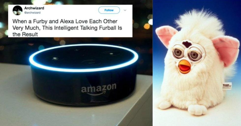 This Guy Turned a Furby Into an Amazon Echo and the Results Will Haunt Your Dreams