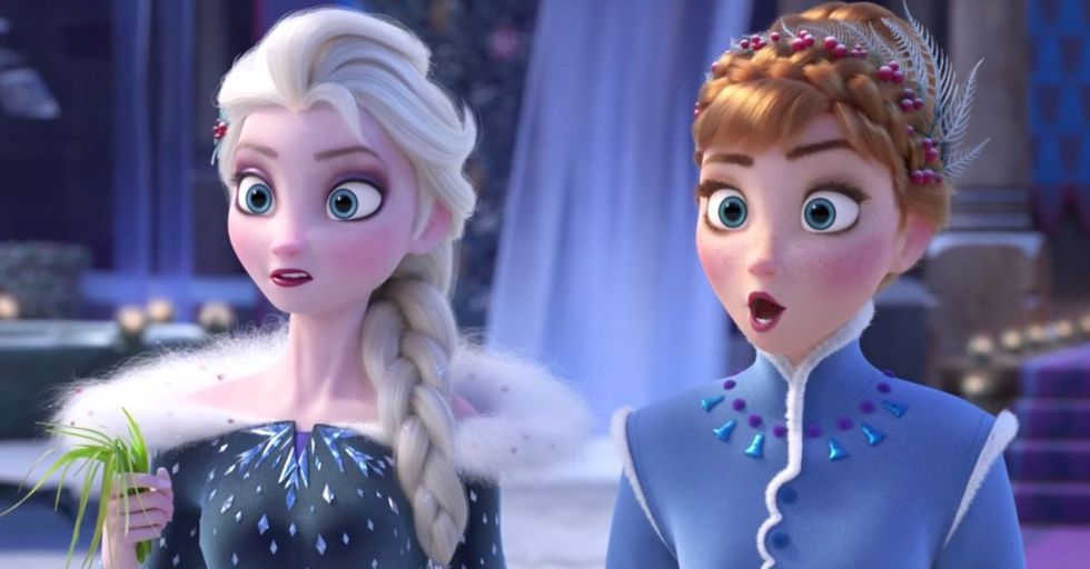 People Are Furious About The Insanely Long 'Frozen' Short That's Playing Before 'Coco'