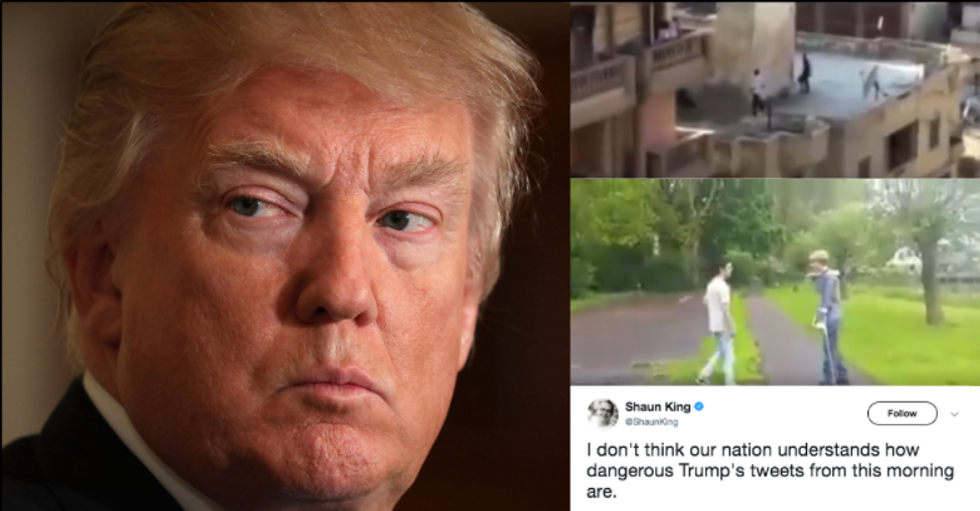 Even Avowed Racists Are Condemning What Trump Tweeted This Morning