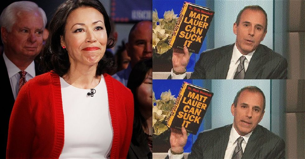 People Are Celebrating Matt Lauer's Comeuppance by Posting Hilarious Ann Curry Memes