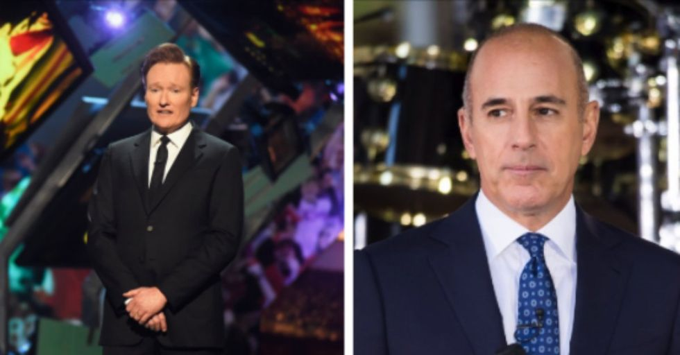 It Turns Out Conan O'Brien Tried to Warn Us About Matt Lauer Years Ago