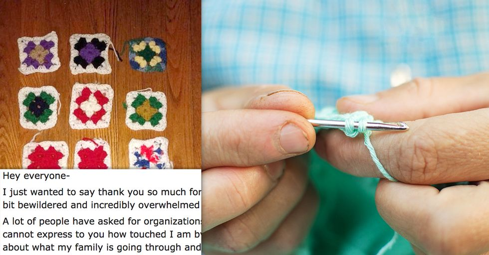 This Heartbreaking Photo Shows the Progression of Alzheimer's Through the Art of Crochet
