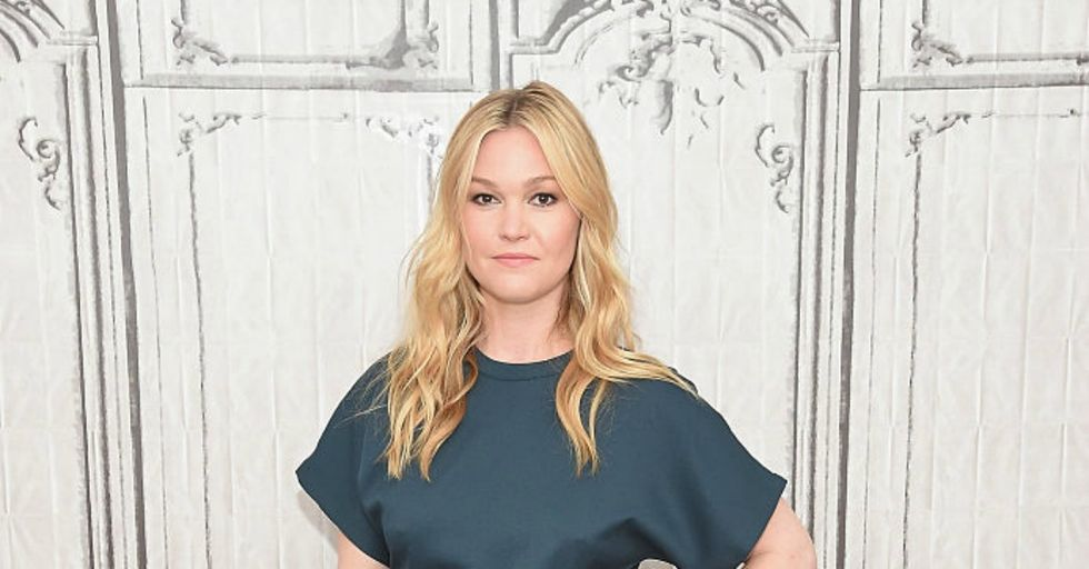 Julia Stiles Posted the First Picture of Her Adorable New Baby, and Then the Internet Pounced