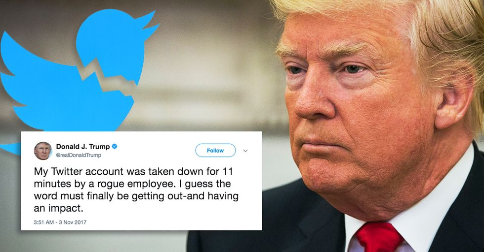 We Now Know Who Was Responsible for Temporarily Deleting Trump's Twitter Account