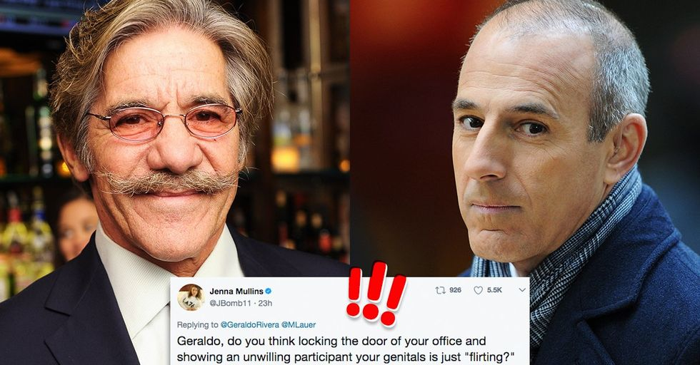 Geraldo Rivera, the Reporter Who Drugged and Groped Bette Midler, Just Tried to Defend Matt Lauer