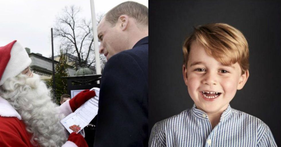 Here's What Prince George Wants for Christmas, According to His Adorable Handwritten Wish List