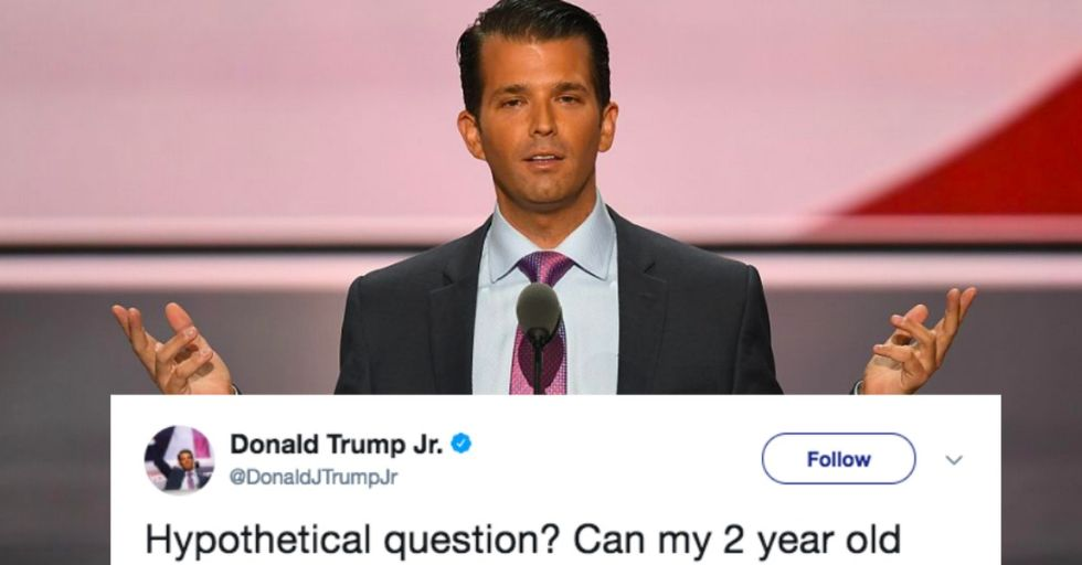 Stephen Colbert Just Destroyed Donald Trump Jr.'s Most Insane Tweet