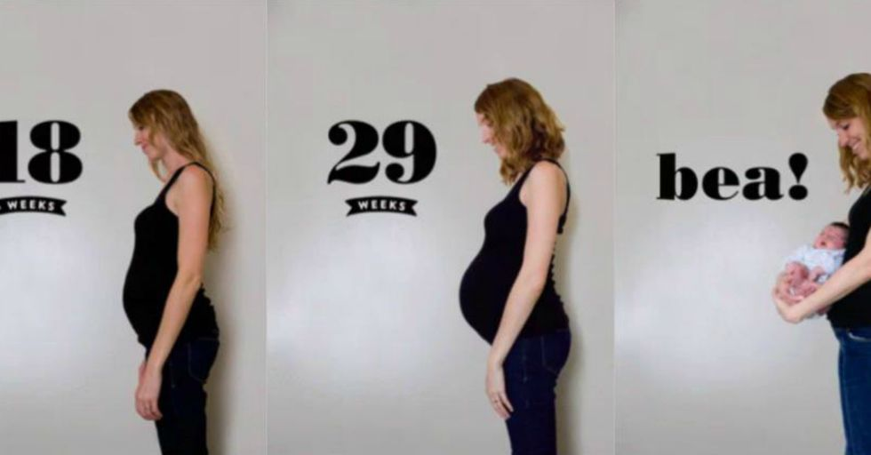 This Mom's Viral Post Exposes the Insane Difference Between Your First and Third Pregnancy Body