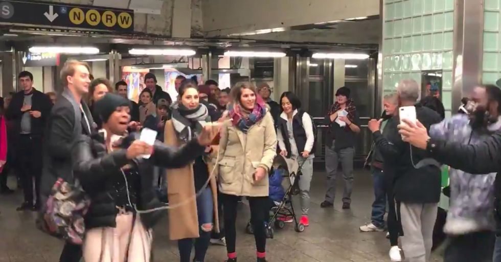 Surprisingly, THIS Is the Unexpected Song That Made New Yorkers Stop and Have a Dance Party in the Subway