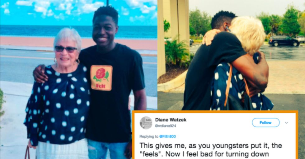 Here's the Story of the Unlikely Friendship Between a Young Rap Artist and an 86-Year-Old Florida Woman