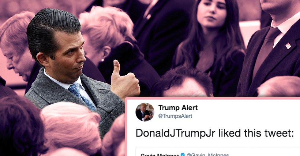 Donald Trump Jr Just Liked a Tweet About Anal Bleaching and Now People Have Questions