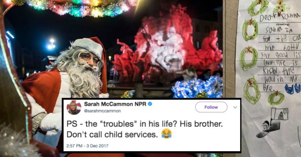 This 6-Year-Old's Highly Critical Letter to Santa Is the Best Thing That's Happened All Year