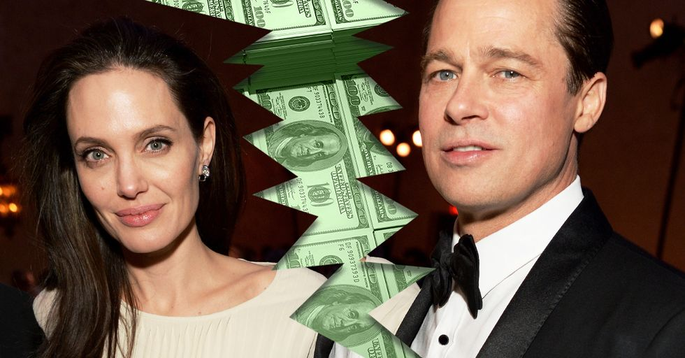This Is the Shocking Amount of Money Brad Pitt Offered Angelina Jolie to End Their Messy Divorce Proceedings