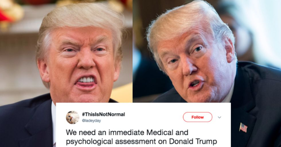 People Think Trump Had a Stroke Because He Slurred His Words in a Speech