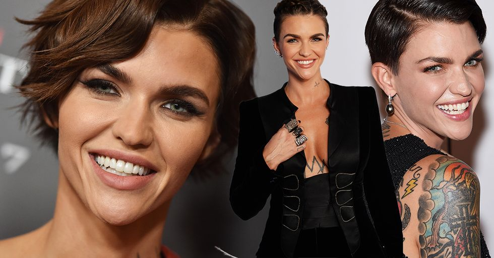 Actress Ruby Rose Just Skewered the Tabloid That Slammed Her Acne on the Red Carpet