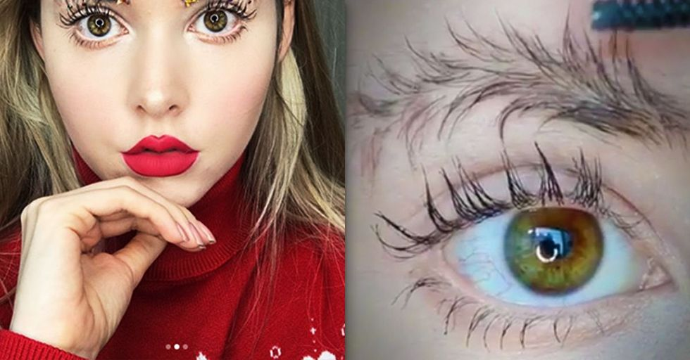 Christmas Tree Eyebrows: the New Holiday Trend Is Here and Well, It's Definitely Something
