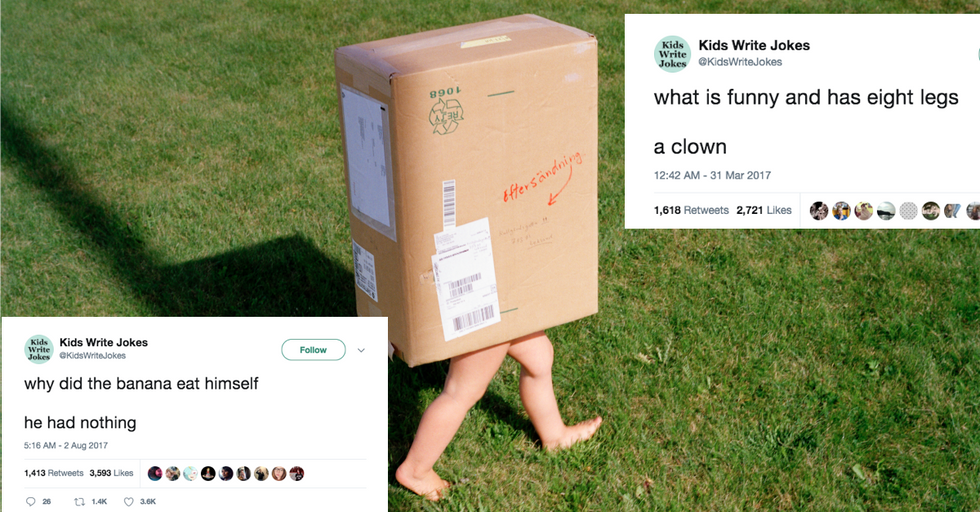 15 Jokes by Kids That Are so Bad They're Actually Really Good