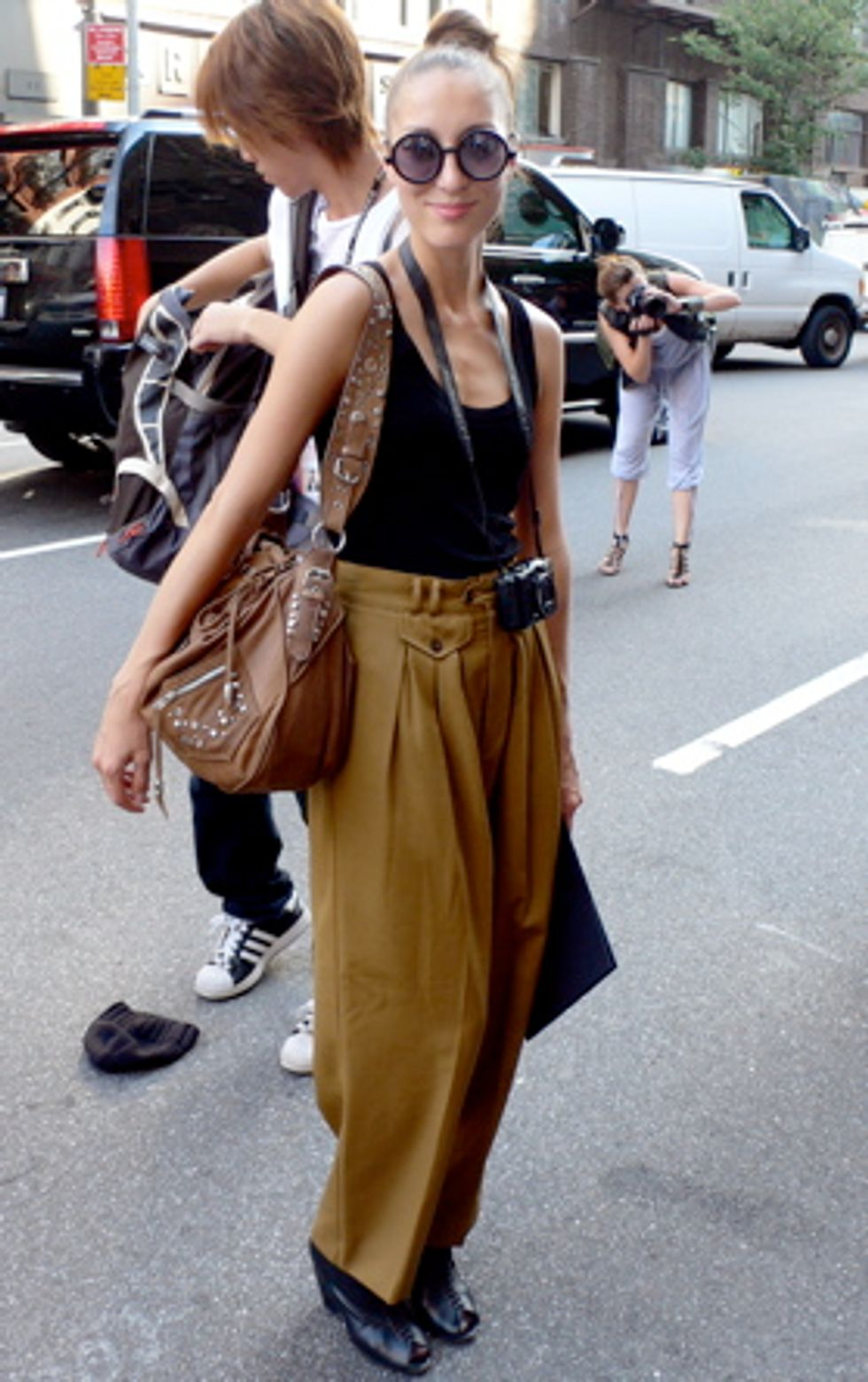 Cornered Style: Five Looks Spotted Outside of the Marc by Marc Jacobs Show