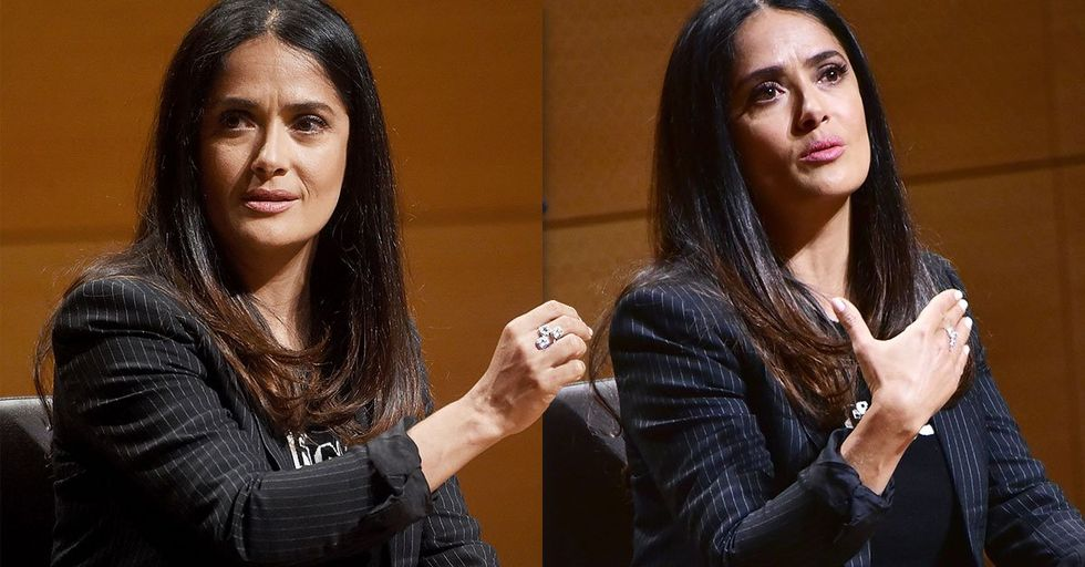 Harvey Weinstein Threatened to Kill Salma Hayek and Forced Her to Do a Nude Sex Scene During the Making of 'Frida'