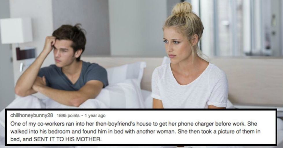 These 12 Completely Insane Cheating Stories Will Make You Glad You're Single or Wish You Were
