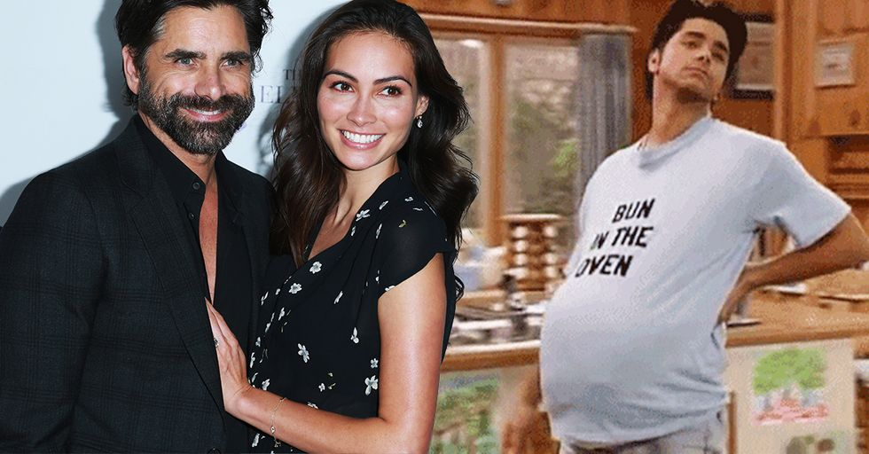 John Stamos and His New Fiancee, Caitlin McHugh, Have Some Big News
