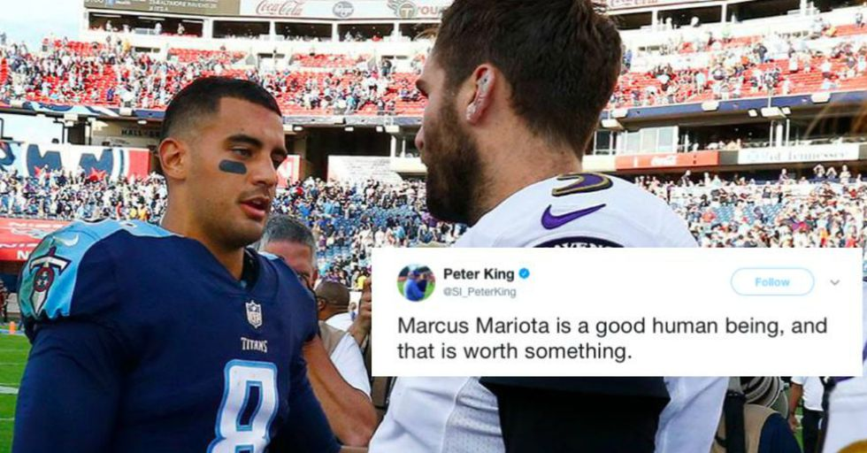 Tennessee Titans' Quarterback Marcus Mariota Was Just Forced to Apologize to Reporters for This Reason