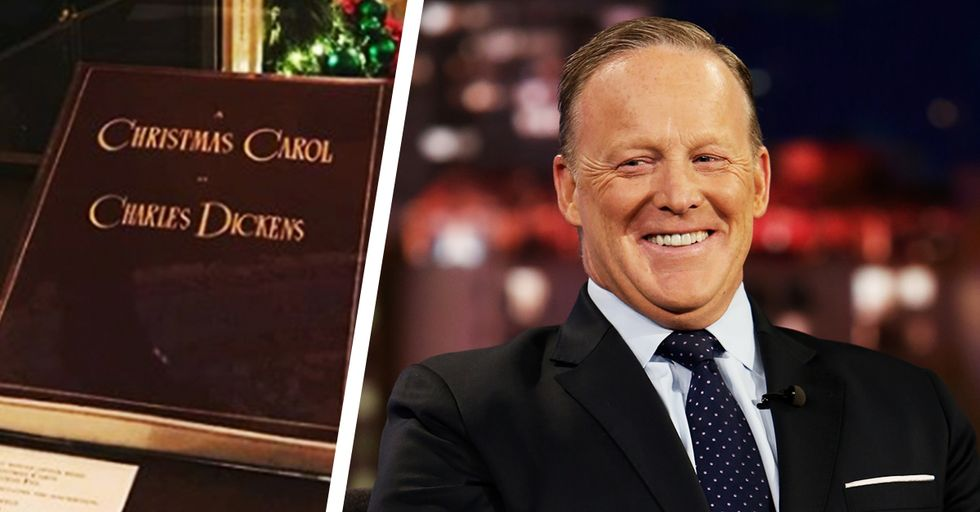 Sean Spicer Has No Idea What Charles Dickens' 'A Christmas Carol' Is