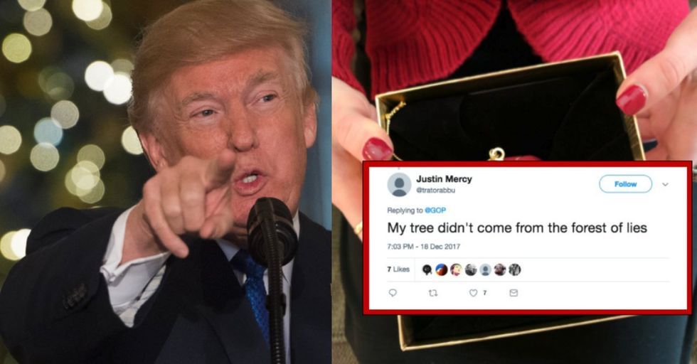 People Are Losing Their S*** Over This Trump Christmas Ornament
