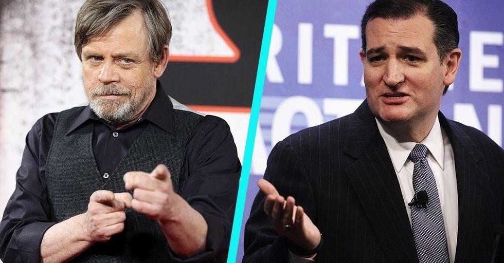 Ted Cruz Tries to Jedi-Splain 'Star Wars' to Luke Skywalker and Fails Miserably