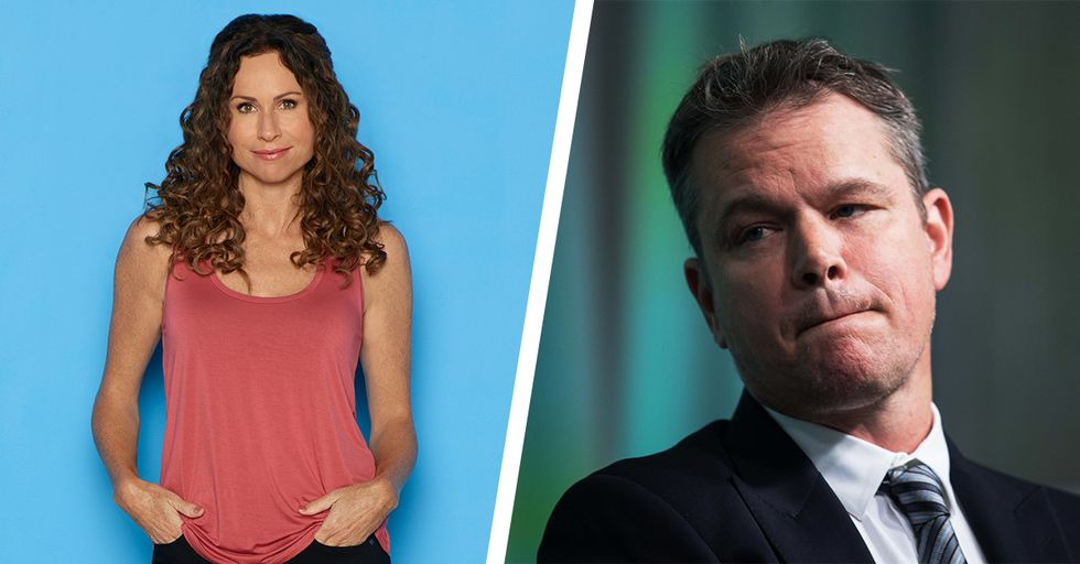 Minnie Driver Blasts Her Ex Matt Damon Over Insensitive Sexual Assault Comments
