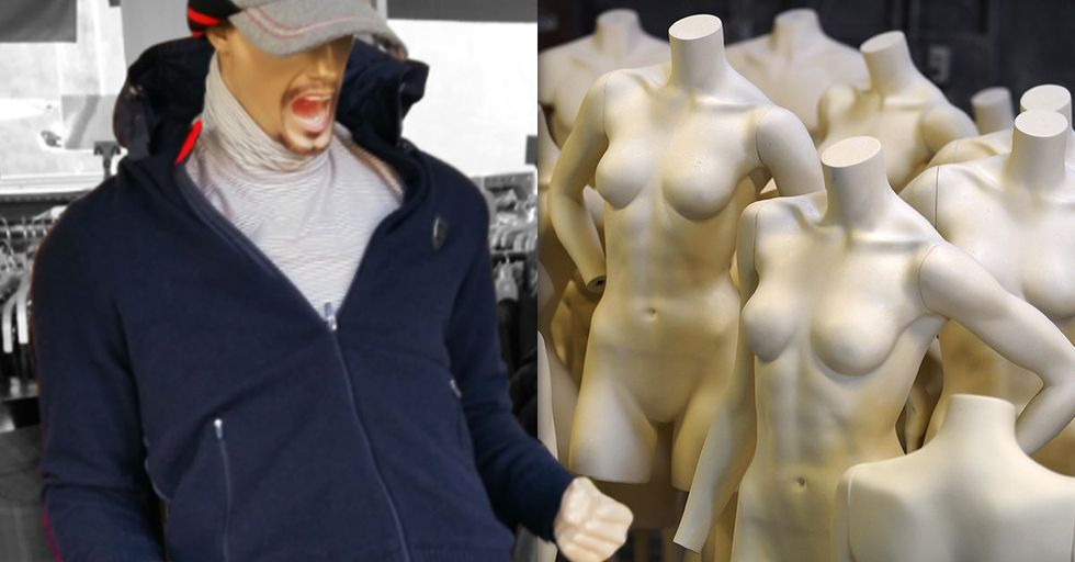 This Insanely Excited Men's Store Mannequin Has Now Been Turned into a Million Photoshopped Masterpieces