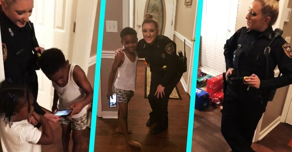 This Little Boy Called the Police to Ensure His Christmas Wouldn't Be Stolen by the Grinch
