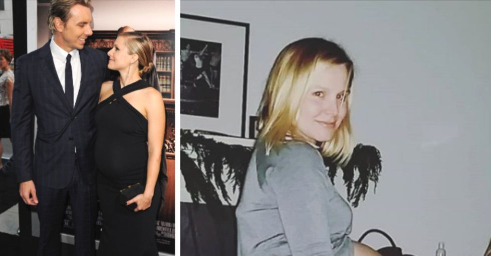Kristen Bell Shares Never-Before-Seen Pregnancy Photos to Celebrate Her Daughter's Birthday