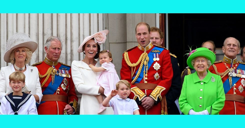 The British Royal Family Just Debuted Their Official Christmas Card and We Can't Get Over It